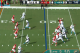 All four receivers broke their routes within six yards of the LOS