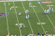 Tannehill takes a sack here instead of moving around to allow his receivers to come open