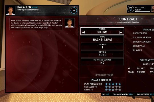 NBA 2K15: Analysis, Review and Tips for MyLeague and MyGM