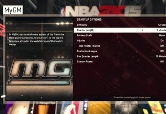 NBA 2K15: Analysis, Review and Tips for MyLeague and MyGM Experience