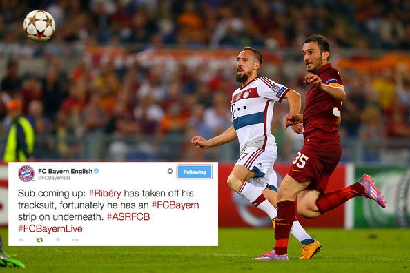 Bayern Munich Win the Internet with Brilliant Champions League Tweet