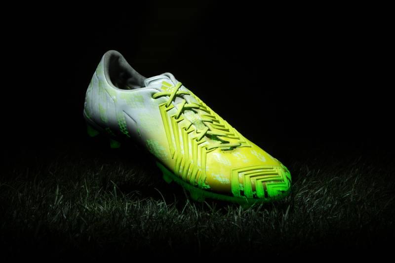 149f779d7 Adidas Unveil Glow-in-the-Dark  Hunt Series  Football Boots ...