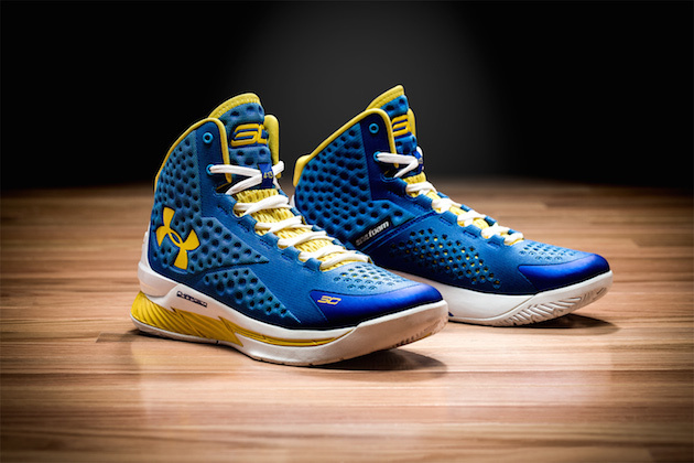 Under Armour Unveils Stephen Curry S First Signature Shoe Bleacher Report Latest News Videos And Highlights