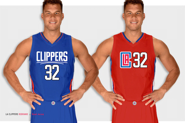 more photos 3dc3a cdeff Are These Abominable Jersey Redesigns the Clippers' New Team ...