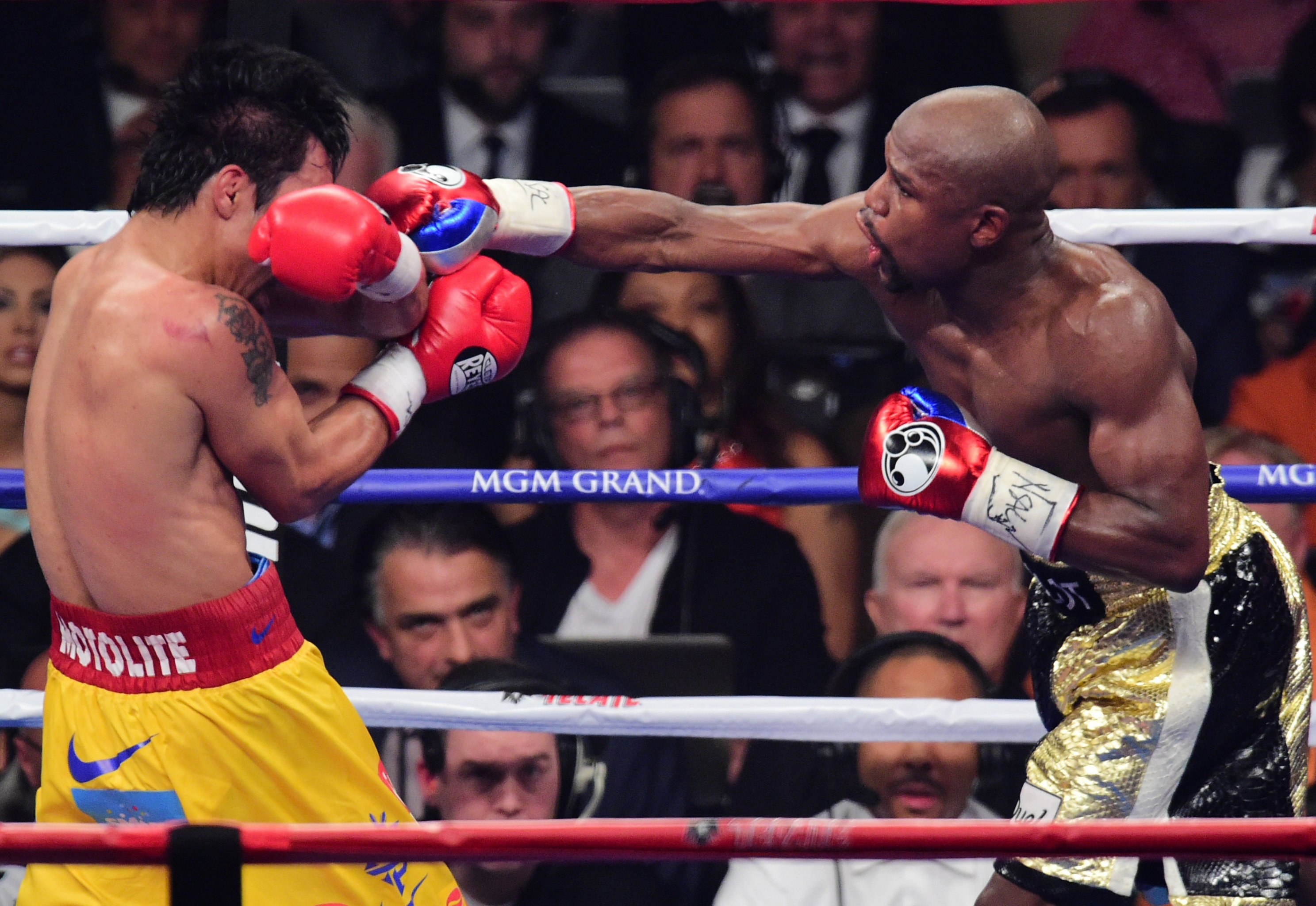 Mayweather vs  Pacquiao: Analyzing Punch Stats That Impacted Title