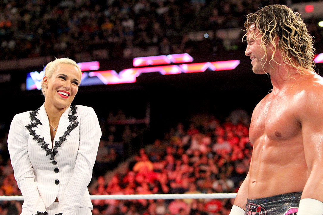 Lana Reveals WWE Chairman Forced Her To Kiss Dolph Ziggler 165