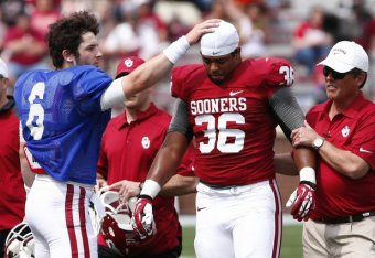 09b374ea2 With Motivation Aplenty, Oklahoma QB Baker Mayfield Is the Ultimate  Underdog | Bleacher Report | Latest News, Videos and Highlights
