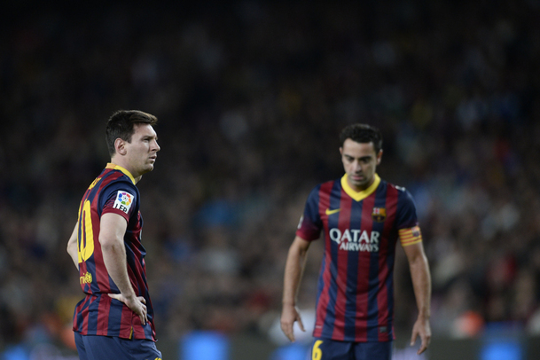 dd4bafac7c9 Xavi thinks Barca are strong enough to keep on winning while Messi is  injured.