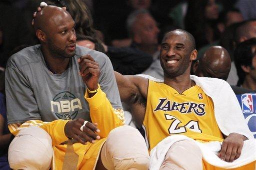 Odom深情緬懷Kobe:我明天4點就去健身房,Gianna會幫Kobe去拿球!