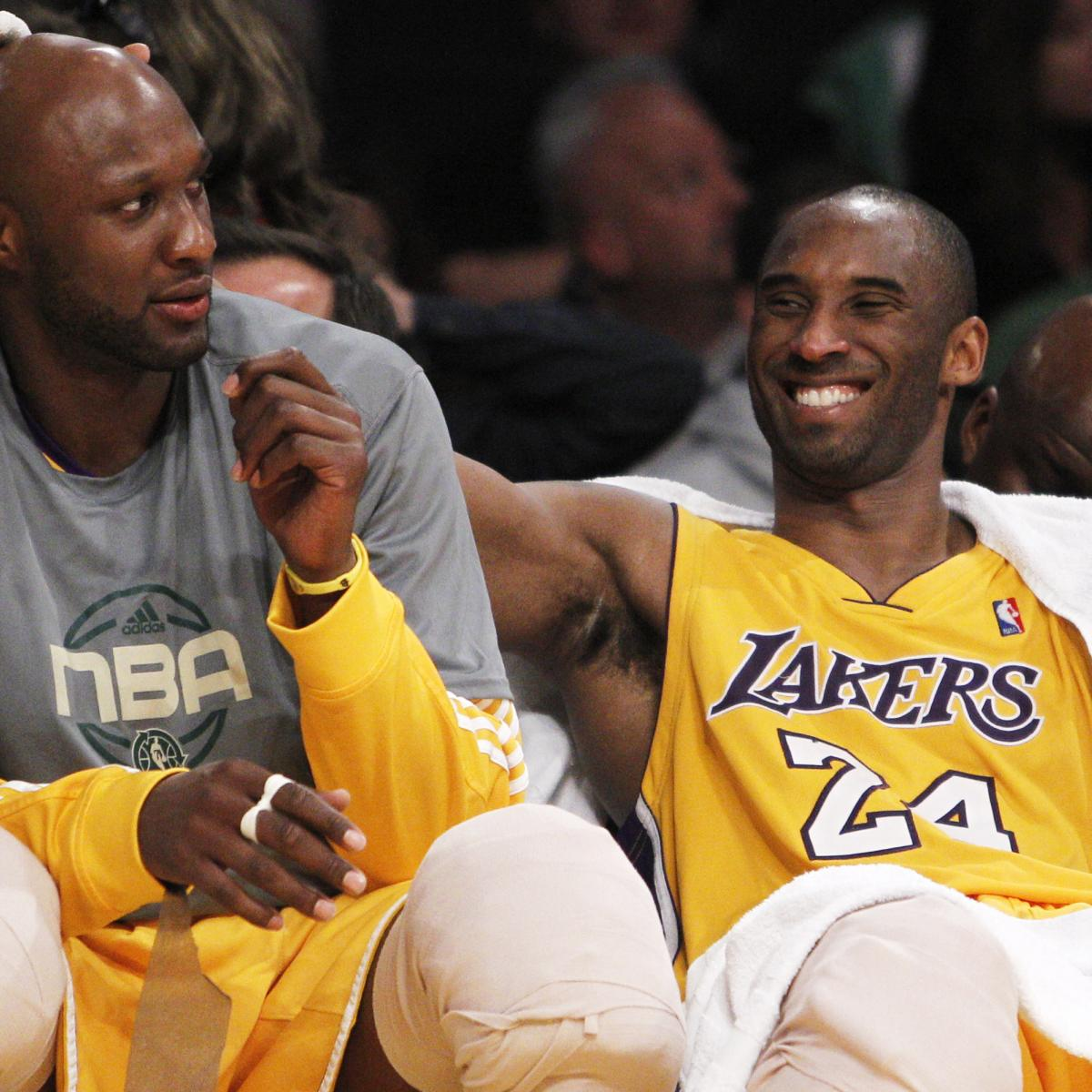 Report  Kobe Bryant Left Immediately After Preseason Game to Visit Lamar  Odom  c1f778698