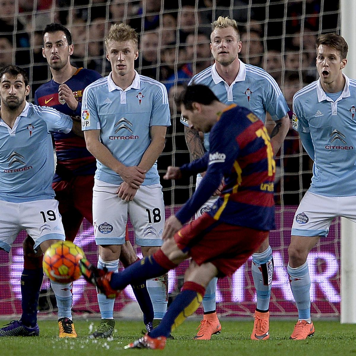 Barcelona Vs Celta Vigo In Youtube: Barcelona Vs. Celta Vigo: Goals, Highlights From La Liga