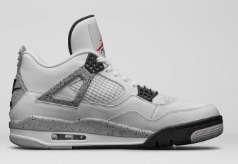 brand new 311ec d1ded Nike Air Jordan 4  Cement   Comparing the OG vs. the Latest Retro    Bleacher Report   Latest News, Videos and Highlights