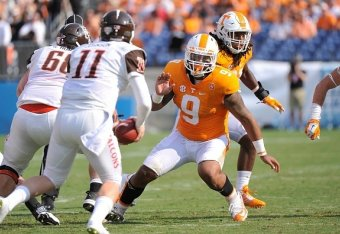 29c77f8bd9d Tennessee Football: Projecting Vols' Post-Spring, 2-Deep Depth Chart |  Bleacher Report | Latest News, Videos and Highlights