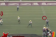 Gustafson's anticipation on the fourth-down throw