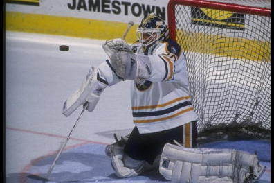 After Dodging Death Twice Ex Goalie Clint Malarchuk Makes Saves Of