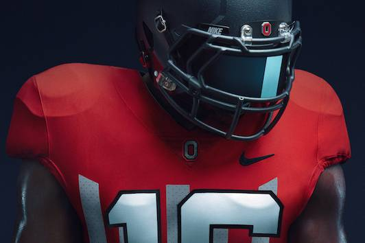 8349121681a via Nike. Ohio State will celebrate the 100-year anniversary of its  undefeated season by wearing commemorative uniforms ...