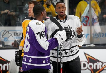 premium selection 62349 f3058 Wayne Simmonds and What a Black All-Star MVP Means for the ...