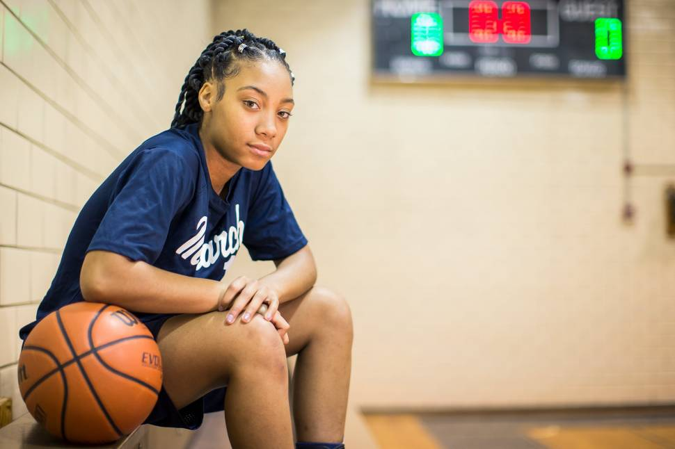 1069c9f64dd How Mo ne Davis Made Her Hoop Dreams Come True  Inside Life After Little  League