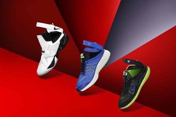 los angeles f2c62 7fa7e Nike s FlyEase technology.