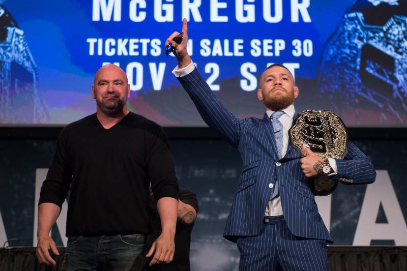 Dana White and Conor McGregor have worked together for years, but the relationship may get more complicated as the purses increase.