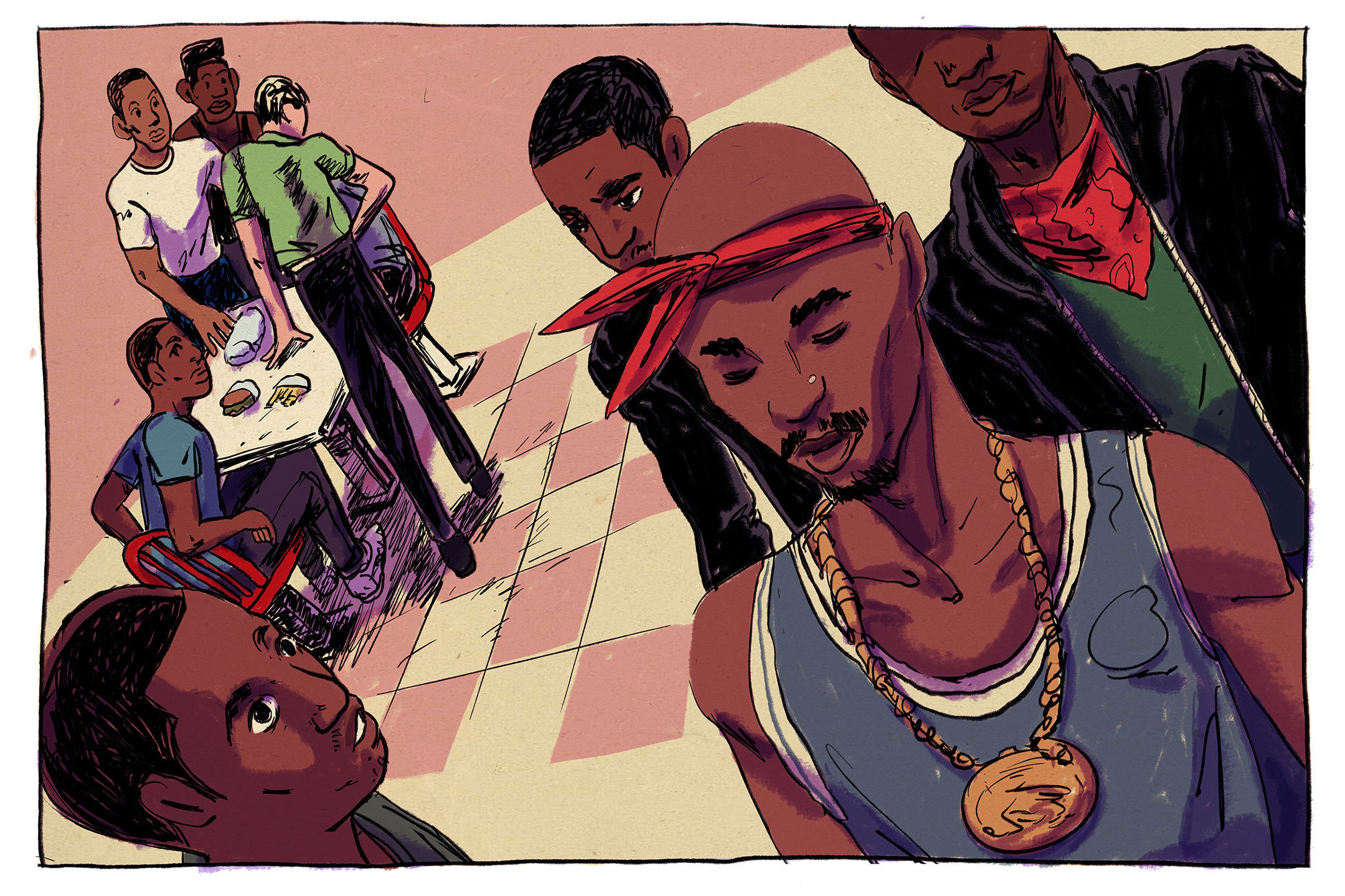 Tupac, Glocks and In-N-Out: A Football Team's Run-in with