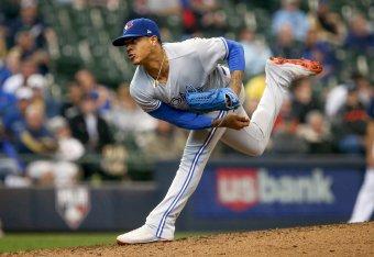 e14ebef7ff1 Blue Jays  Marcus Stroman the Pound-for-Pound King of MLB Mound Swag ...