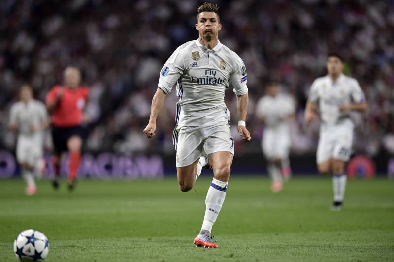 Cristiano Ronaldo has been blessed with great pace and power.