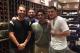 The 305 Boys: Danny Valencia, Yonder Alonso, Jon Jay and Manny Machado.