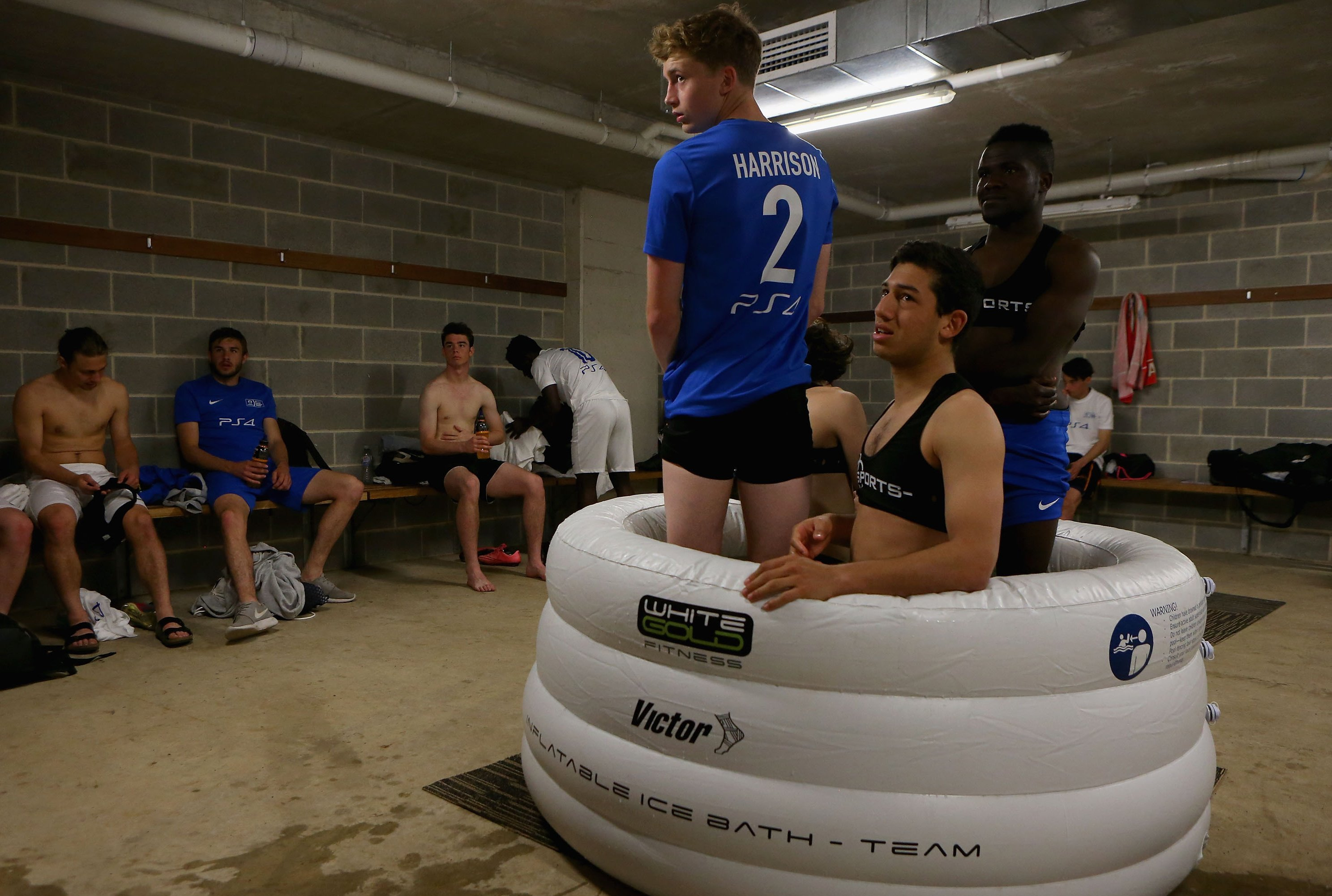 Inside the Premier League's Sports Science: Ice Baths & Cryotherapy