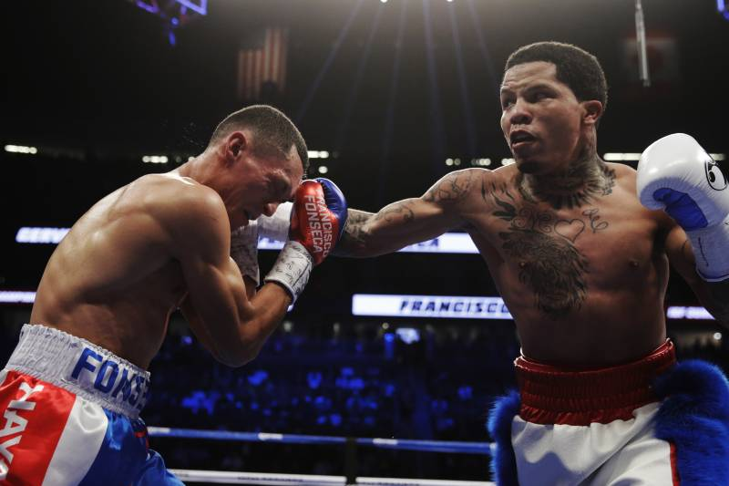 Gervonta Davis battered Francisco Fonseca.