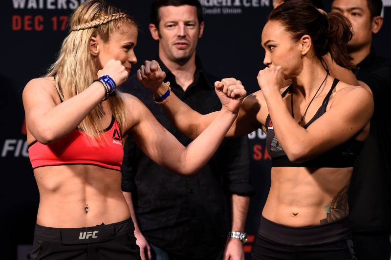 VanZant lost her last fight to Michelle Waterson last year.