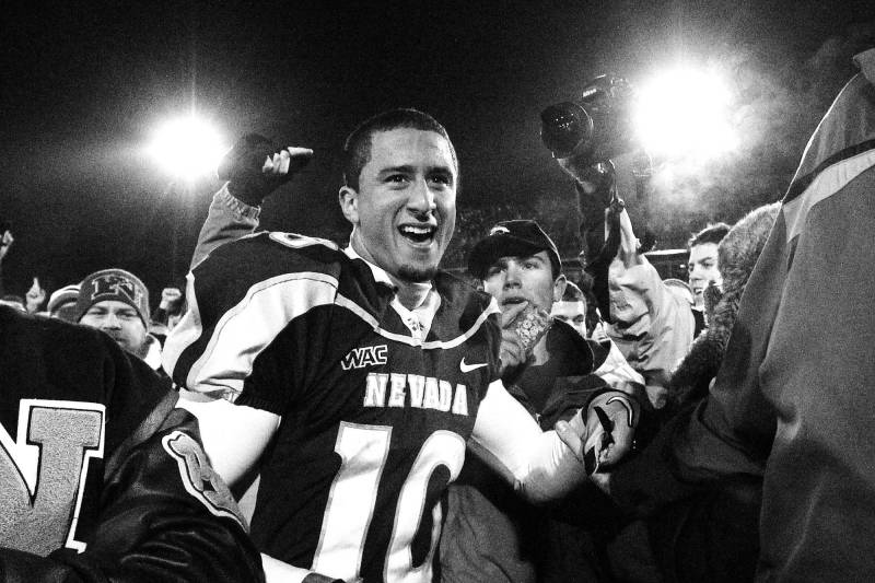 """Colin led Nevada to a 13-1 record his senior year, including what his coach called """"the greatest victory this university has ever had."""" But his education went well beyond the field."""
