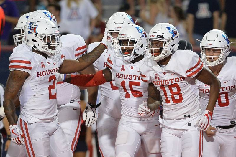 watch 0538b adbb3 Cougars Will Wear 'Houston' on Jersey Nameplates for Home ...