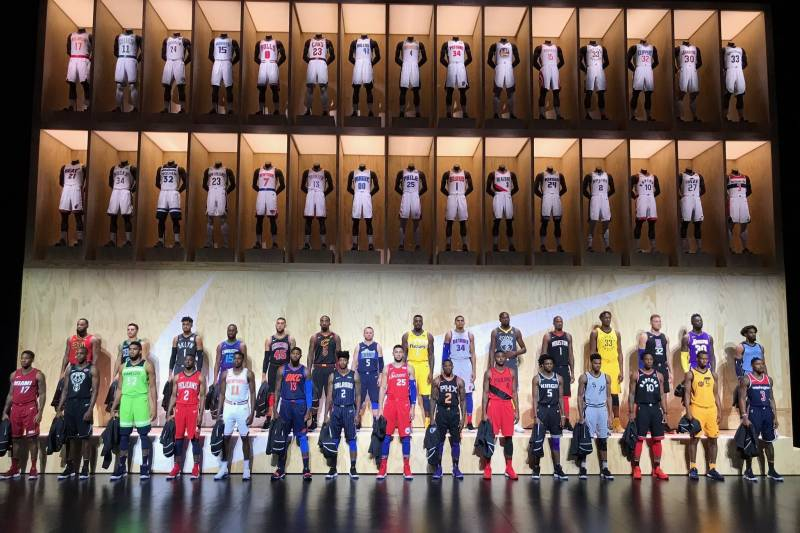 82182ea9 NBA Teams Showcase Alternate 'Statement' Jerseys for the 2017-18 ...