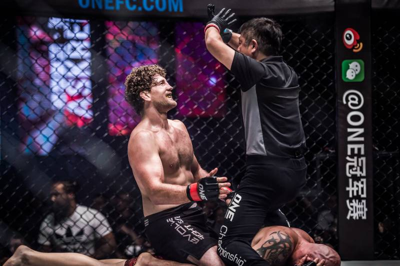 Ben Askren is one of the fighters who have called out MacDonald recently.