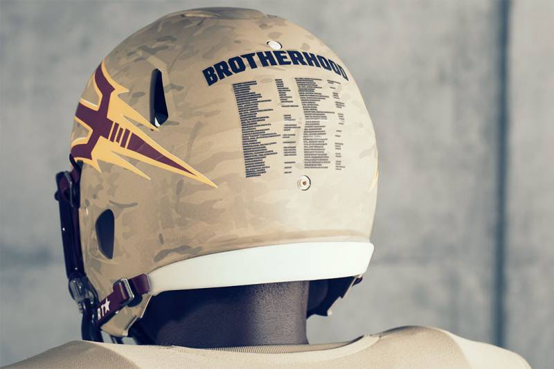 online store 40091 5e816 Arizona State Will Honor Pat Tillman, Veterans with ...
