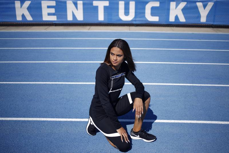 At 16, Sydney became the youngest track and field athlete to make the U.S. Olympic team since 1980.