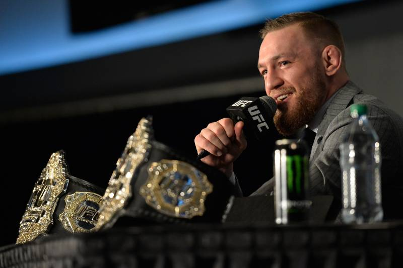 McGregor stated he wanted a slice of the promotional pie after UFC 205. He's only gotten bigger since.