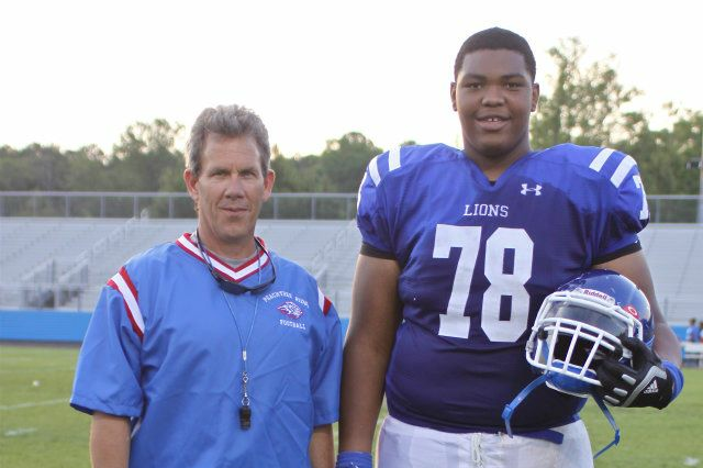 Peachtree Ridge coach Mark Fleetwood saw the potential Brown had if he could get in better shape.