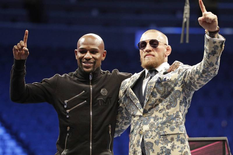 The Mayweather vs. McGregor superfight was a game-changer for the UFC champ in multiple ways.