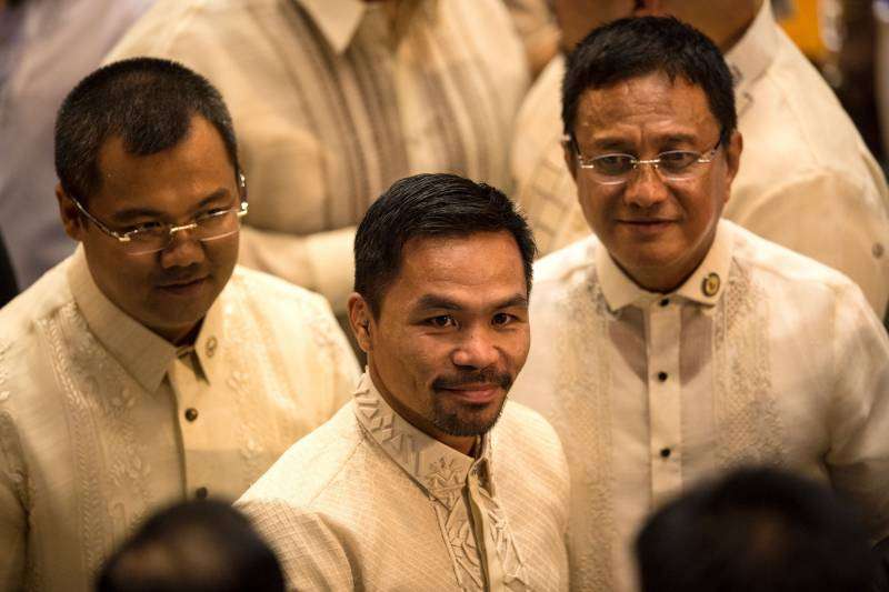 Most of Manny Pacquiao's time is spent as a politician in Manilla these days, but he's slated to return to the ring in April.