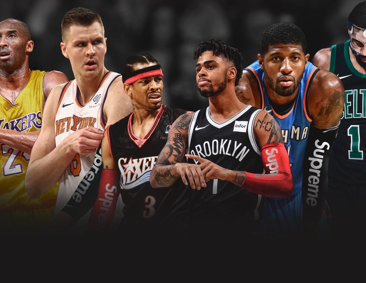 B R Kicks Imagines More NBA Players in the Supreme Shooting Sleeve ... 59177d8cd