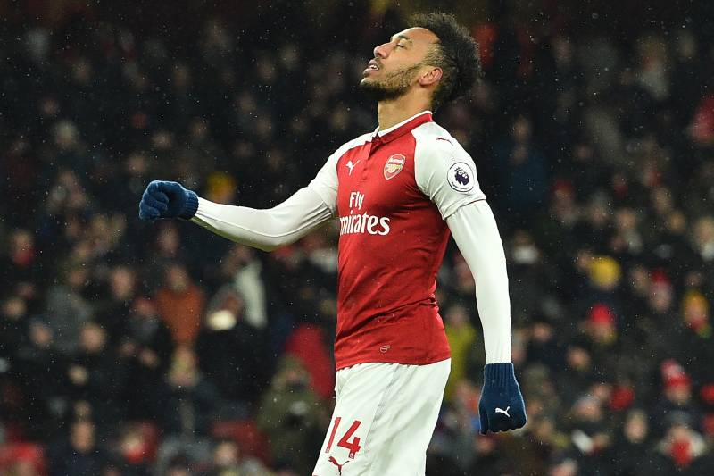 Aubameyang's struggles in front of goal encapsulated a difficult night for Arsenal.