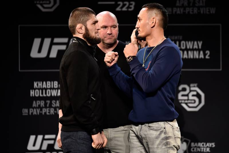Saturday's Nurmagomedov vs. Holloway bout will determine the new lightweight champion.