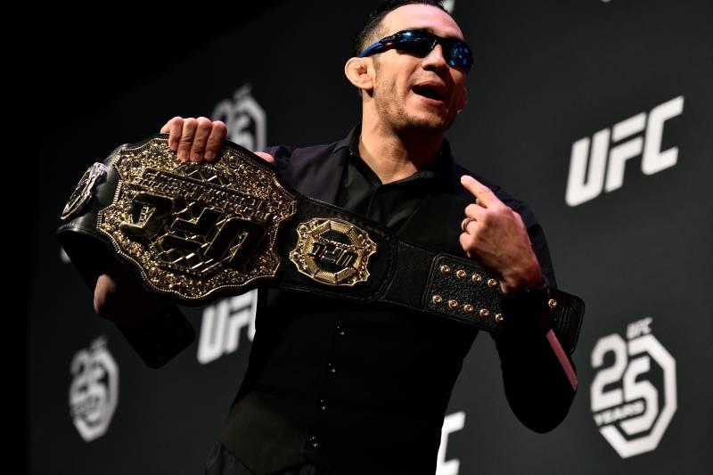 White clarified that Ferguson will still be a UFC titleholder...of some sort.