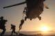 Damian Jackson as a Navy SEAL on deployment in Yemen.