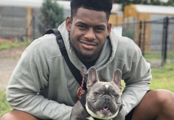 f69eb204495 JuJu Smith-Schuster Is the NFL s Most Likable One-Man Brand  The B R Mag  Q A