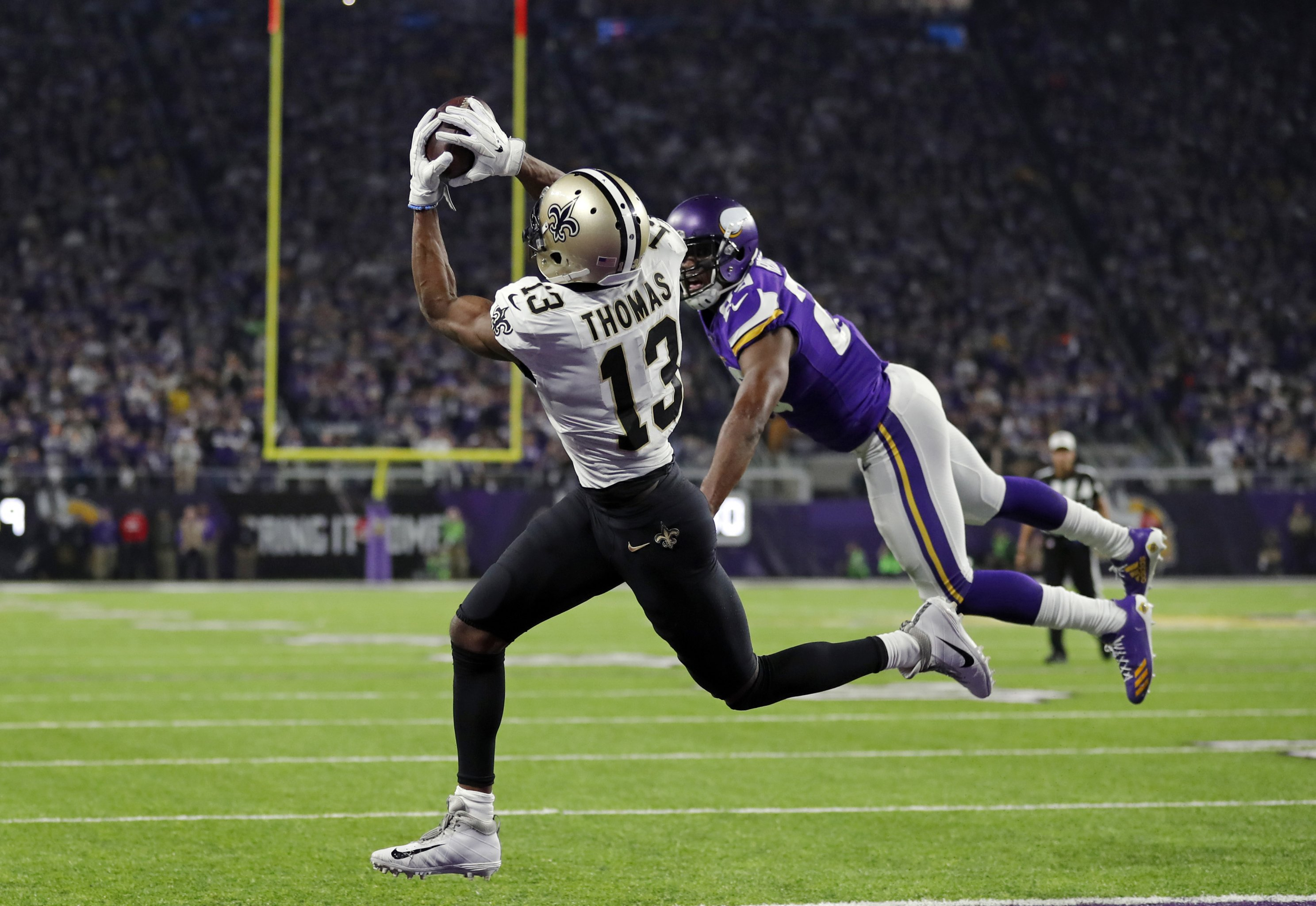 ffb34886f Saints Receiver Michael Thomas Is Here to Make History, Not to Be ...