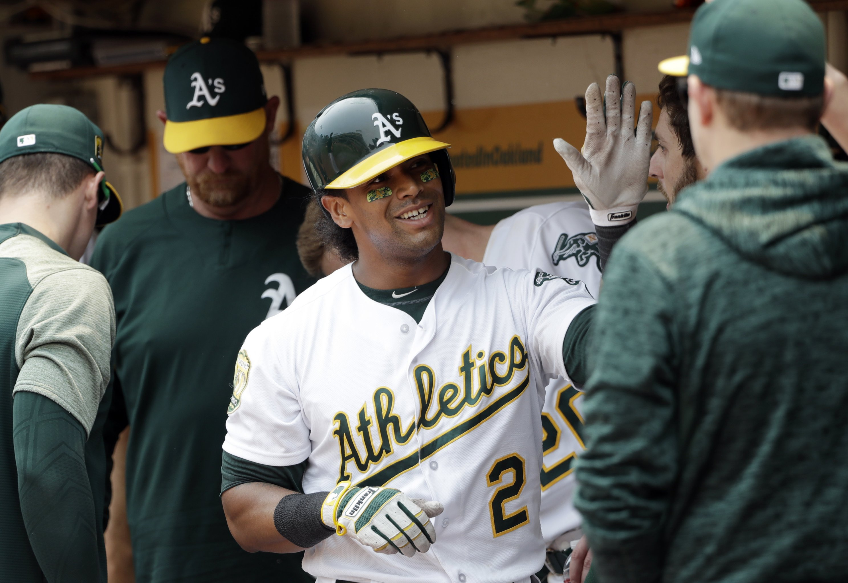 meet 75300 97921 This Is the Real KD': Khris Davis Is MLB's Heart-Melting ...