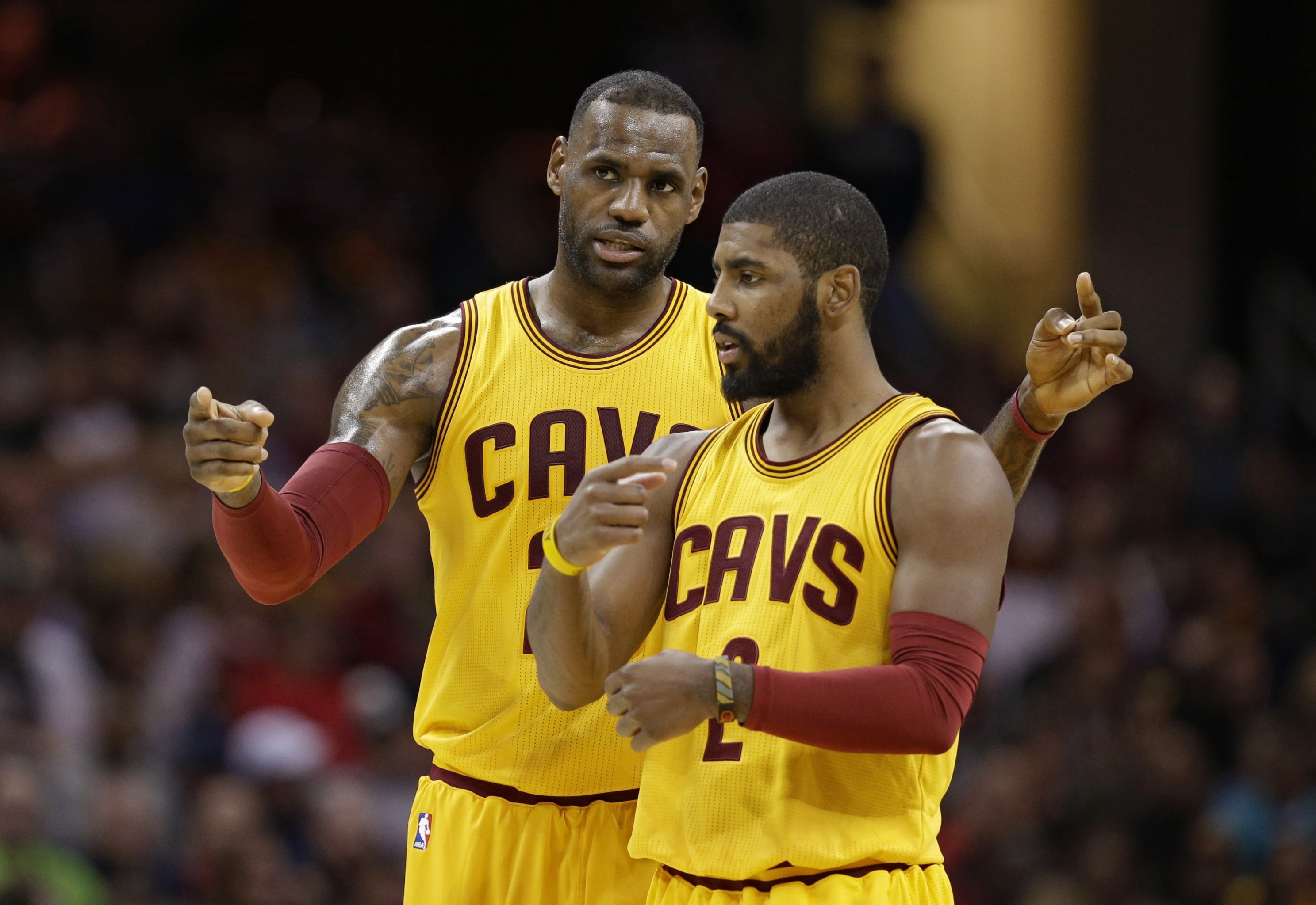 05b83fe97 It's Not What Kyrie Irving Sees, It's How He Sees It | Bleacher ...